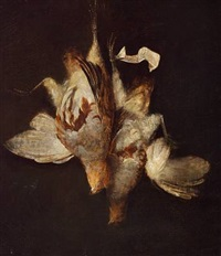 nature morte with winged game by william gowe ferguson