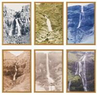 ohne titel (wasserfälle) (set of 6) by olafur eliasson