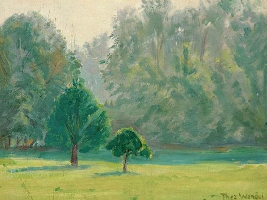 summer glade by theodore wendel