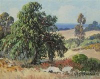 pepper tree, santa barbara by carl sammons