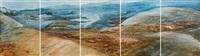 landschaft (+ 4 others; 5 works) by siegfried anton santoni