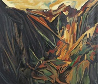 david bomberg, valley of la hermida, picos, 1935 by michael ashcroft