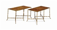 low tables (pair) by victor bagues