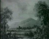 mountain landscape by paul arnett