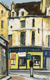 rue vieille du temple, boutique jaune