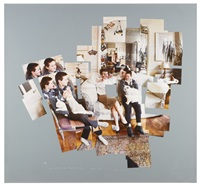george, blanche, celia, albert and percy by david hockney