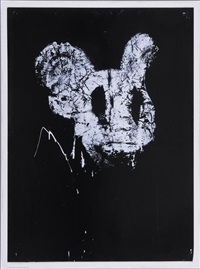 untitled (mickey) by joyce pensato