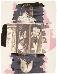 hollywood sphinx (illegal tender l.a. series) by robert rauschenberg