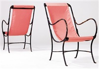 lounge chairs (pair) by morgan colt