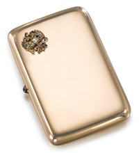 imperial presentation cigarette case by gabriel niukkanen