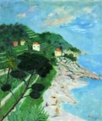 paesaggio costiero by adalberto campagnoli