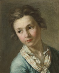 portrait of a youth by antoine rivalz
