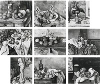 after cezanne: 1-9 (in 9 parts) by sherrie levine