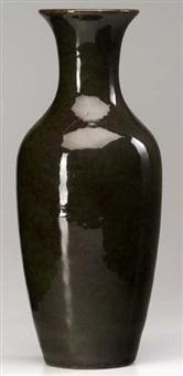 tall vase by grand feu art pottery