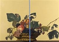 still life (2 panels) by miroslav antic