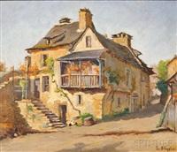 maison en pierre du village by lucien bleyfus