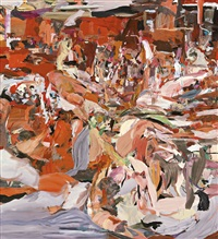 lady with a little dog by cecily brown