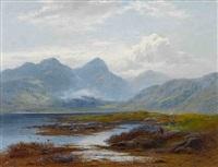 im schottischen hochland by george blackie sticks