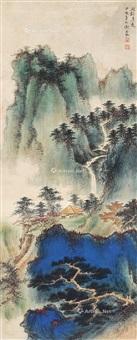 清远图 立轴 纸本 by xie zhiliu