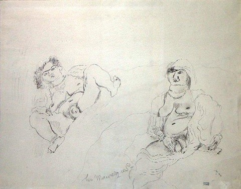 les mauresques by jules pascin