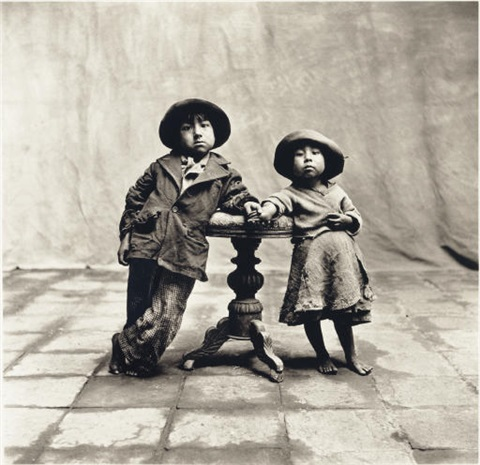 cuzco children by irving penn