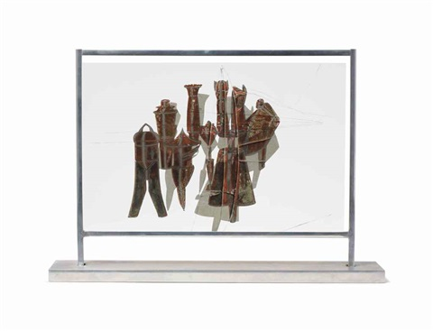 nine malic moulds by marcel duchamp