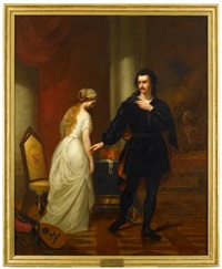 hamlet and ophelia by george w. pettit