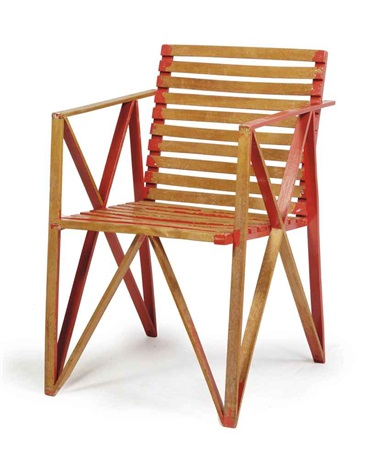 armchair by gerrit thomas rietveld