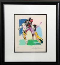 receiver by leroy neiman