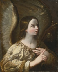 angel of the annunciation by guido reni