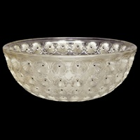 bowl nemours by rené lalique