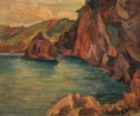 paisaje de costa by francisco gimeno arasa