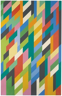 the ivy painting by bridget riley