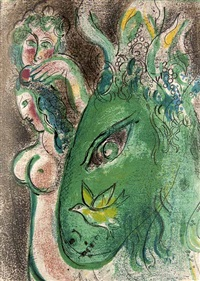 dessins pour la bible (verve no. 37-38 w/47 works) by marc chagall