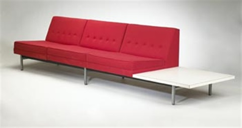 modular sofa system von george nelson auf artnet. Black Bedroom Furniture Sets. Home Design Ideas