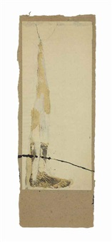 untitled (foot dissection) by robert rauschenberg