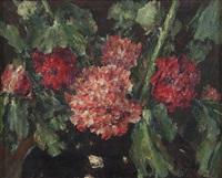 stilleven met bloemen by walter vaes