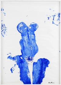 not yves klein by mike bidlo
