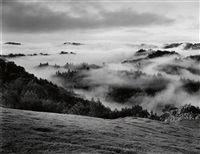 clearing storm, sonoma county hills, california by ansel adams