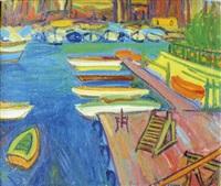 marseille, le vieux port by françois diana