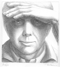 self-portrait by george tooker