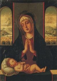 madonna col bambino dormiente by alvise vivarini