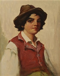 sicilian boy by henry leopold richter