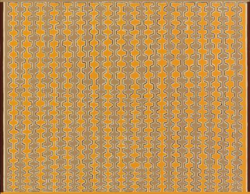 recursive combs boustrophedonic by james siena
