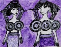 two beautiful woman 2 by kyu sun ariola