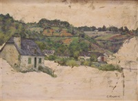 village breton by georges rasetti