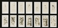 hydra august and september (in 14 parts) by brice marden