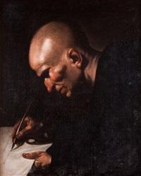 el venerable beda by leonardo alenza y nieto