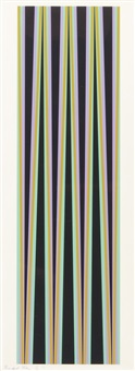elongated triangles 6 by bridget riley