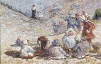 kinderen in de duinen by pierre billet